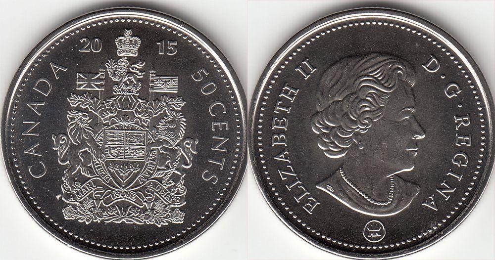 50 центов 2015 года UNC