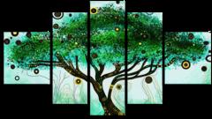 "Модульная картина ""Волшебное дерево"""