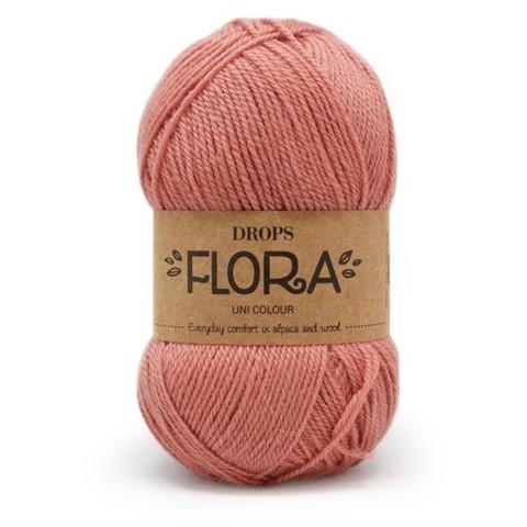 Пряжа Drops Flora 20 лосось