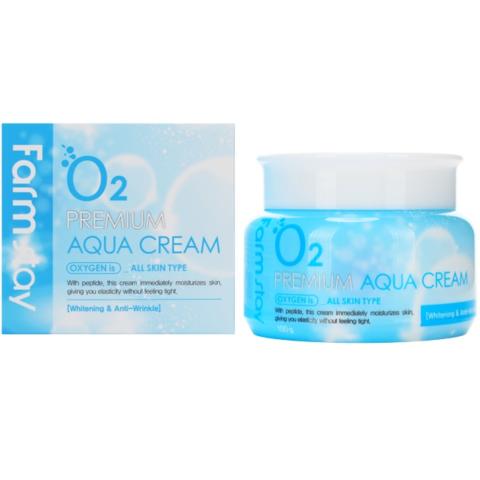 FARMSTAY O2 Premium Aqua Cream