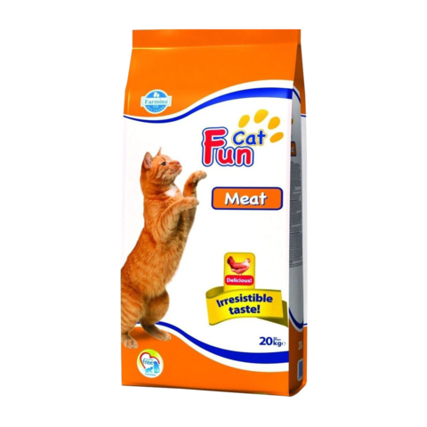 Farmina Fun Cat Сухой корм для кошек с Мясом