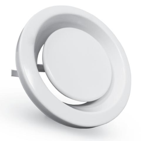 Диффузор шумоподавляющий стальной вытяжной Airone EFF 100
