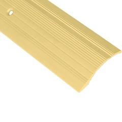 Порог алюминиевый переходной ПО-39х6 золото 39x2700 мм