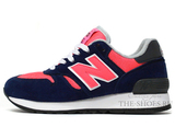 Кроссовки Женские New Balance 670 Navy Pink