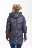Куртка для беременных 07351 черный/бирюзовый