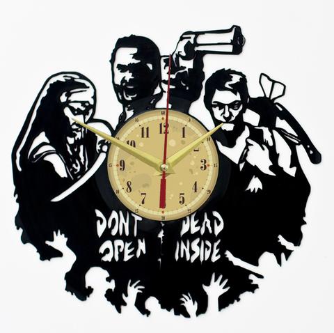 Ходячие мертвецы Часы из Пластинки