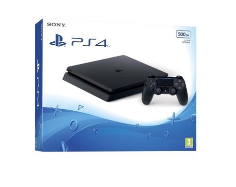 Игровая консоль Sony PlayStation 4 Slim, 500Гб, черная