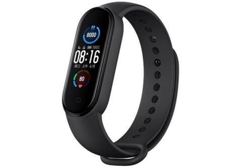Фитнес часы-браслет M5 (черные)