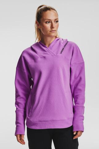 Женское фиолетовое худи Recover Fleece Hoodie Under Armour