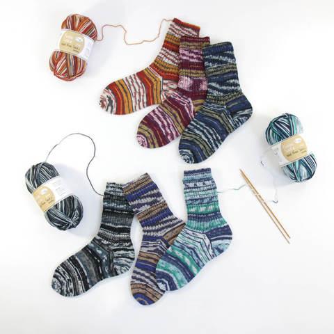 Rellana Flotte Socke Wool Free Smilla 1385