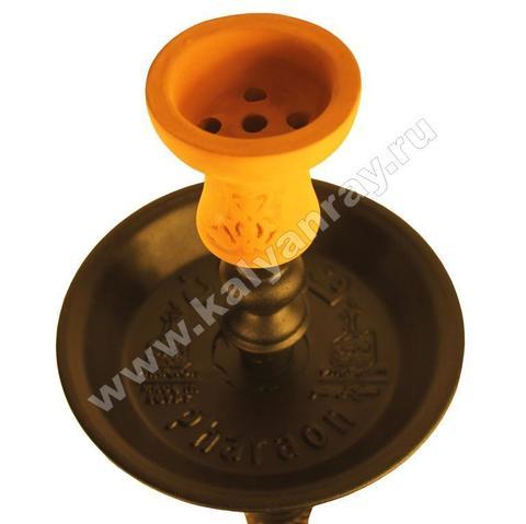 Съемная тарелочка и глиняная чаша
