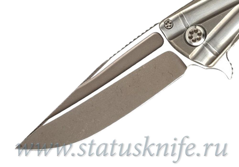 Нож Marfione Custom Closer Bronzed Hardware - фотография