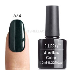 Гель-лак Bluesky № 40574/80574 Serene Green, 10 мл
