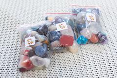 Набор самоцветов для аквариума 500гр (более 30 штук)