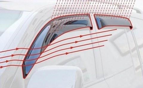 Дефлекторы окон DAEWOO NEXIA седан (1995 - 2008 / 2008 - г.)