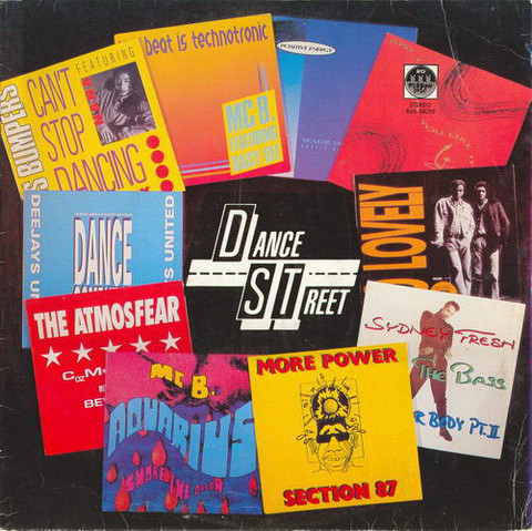 Виниловая пластинка. Dance Street