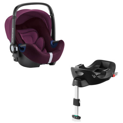 Автокресло Britax Roemer Baby-Safe2 i-Size Burgundy Red + Base Flex Isofix