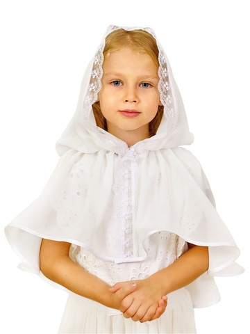 Неспадающий платок детский «Полинка»  в церковь
