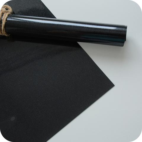 Термотрансферная пленка черная, матовая 25х25 см