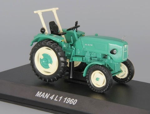 Модель Трактор №96 MAN 4L1 история, люди, машины
