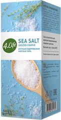 4LIFE, Соль морская крупная йодированная в коробке, 500гр