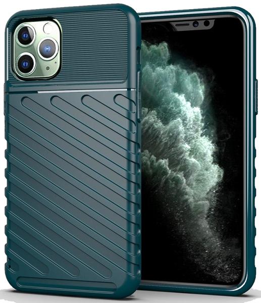 Чехол для iPhone 11 Pro Max цвет Green (зеленый), серия Onyx от Caseport