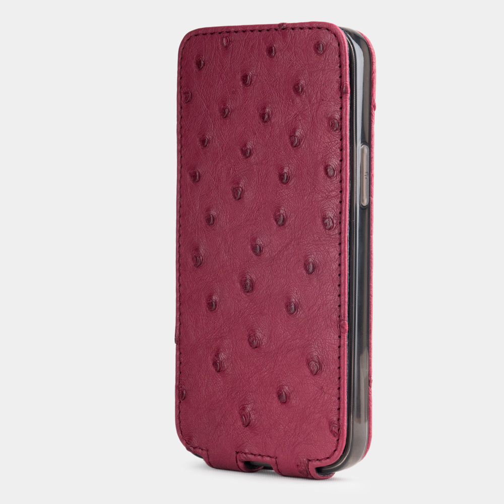 case iphone 12 mini - ostrich fushia