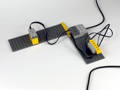 LEGO Education Mindstorms: Датчик движения к ПервоРоботу WeDo 9583 — WeDo Robotics Motion Sensor — Лего Образование