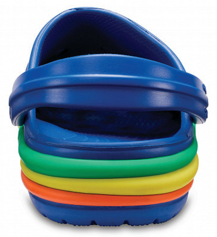 Сабо Rainbow Band Clog K (Крокбэнд)  Crocs