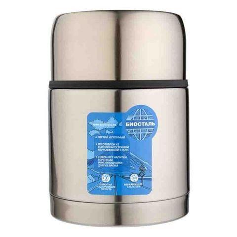 Уценка! Термос для еды Biostal Авто (0,6 литра) с термочехлом, медный