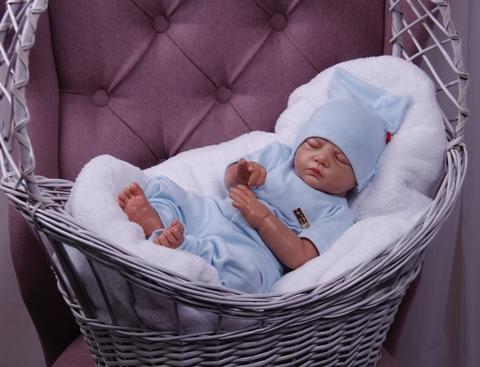 Летний комплект для новорожденных Нежность (голубой)