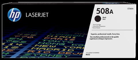 Оригинальный картридж HP CF360A (№508A), чёрный