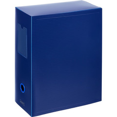 Короб архивный Attache пластиковый синий 245x120x330 мм