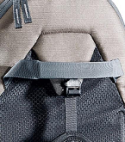 Картинка рюкзак-переноска Deuter Kid Comfort III Black-Granite - 7