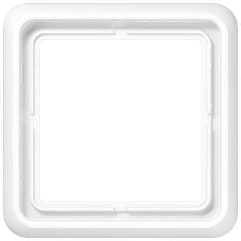 Рамка на 1 пост. Цвет Белый. JUNG CD 500. CD581WW