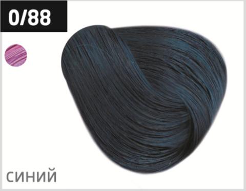 OLLIN color 0/88 корректор синий 100мл перманентная крем-краска для волос