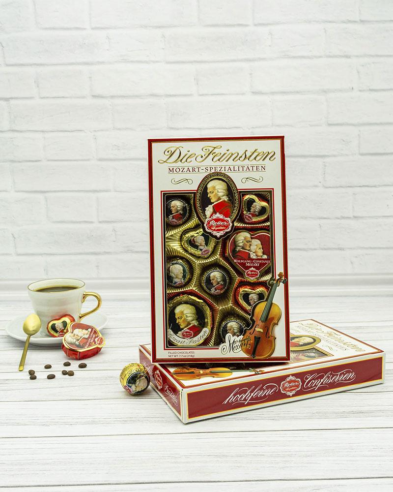 Шоколадные Конфеты Reber Ассорти 218 гр.