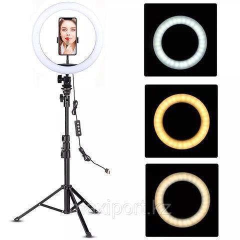 Кольцевая лампа светодиодная 30 см