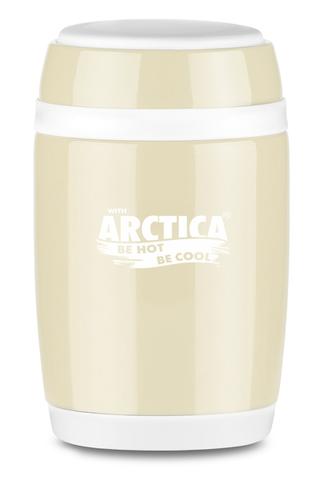 Термос для еды Арктика (0,58 литра), бежевый