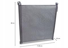 Ворота безопасности Lionelo LO-TULIA Grey до 140 см
