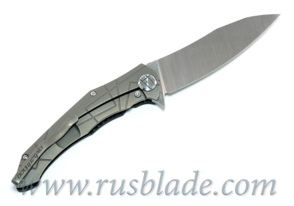 CKF Asymmetric midi SUPER SET (Alexey Konygin design, S90V, titanium, CF) - фотография