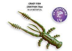 Силикон CRAZY FISH CRAYFISH 3