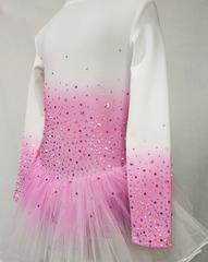 Платье для фигурного катания тёплое
