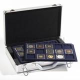 Кофр (кейс) для монет CARGO L 6, включая 6 лотков по 15 ячеек для 90 QUADRUM капсул