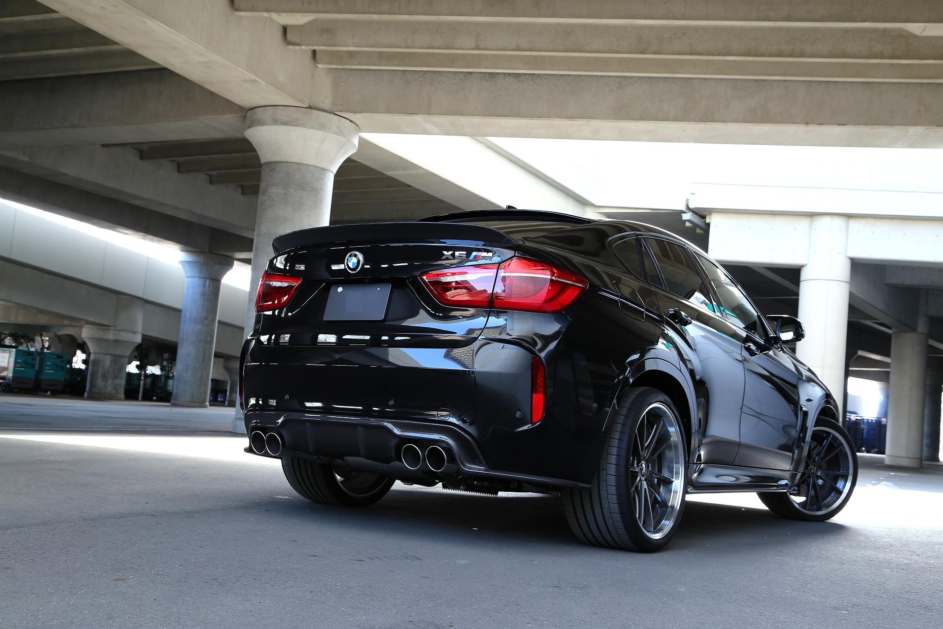 Карбоновый диффузор Variant 2 для BMW X5M F85