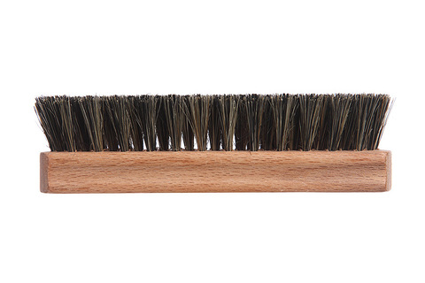 YOZHIK Щётка для обуви (140x40, чёрная натуральная щетина) фото сбоку