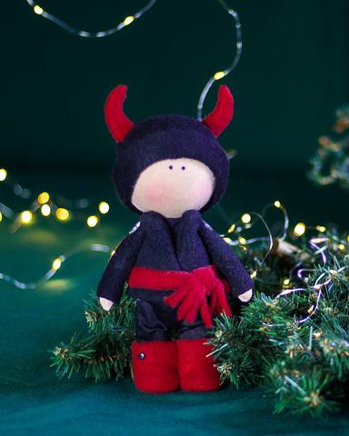 Лялька Яків. Різдвяна серія La Petite Вертеп - чорт