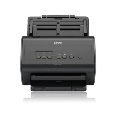 Сканер Brother ADS2400N (ADS2400NUN1) A4 черный