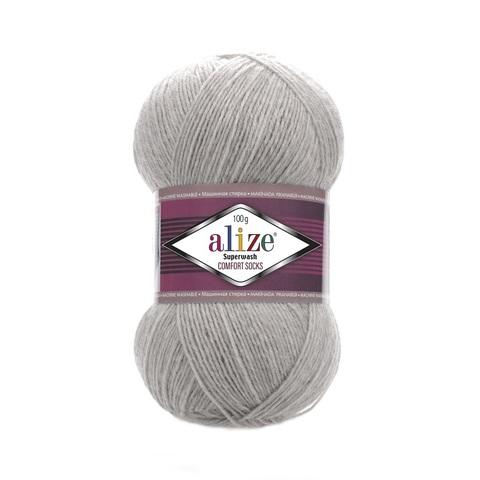 Пряжа Alize SuperWash Comfort Socks цвет 0021