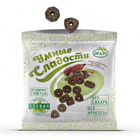 Печенье амарантовое, Di&Di, Шоколадное, 160 г
